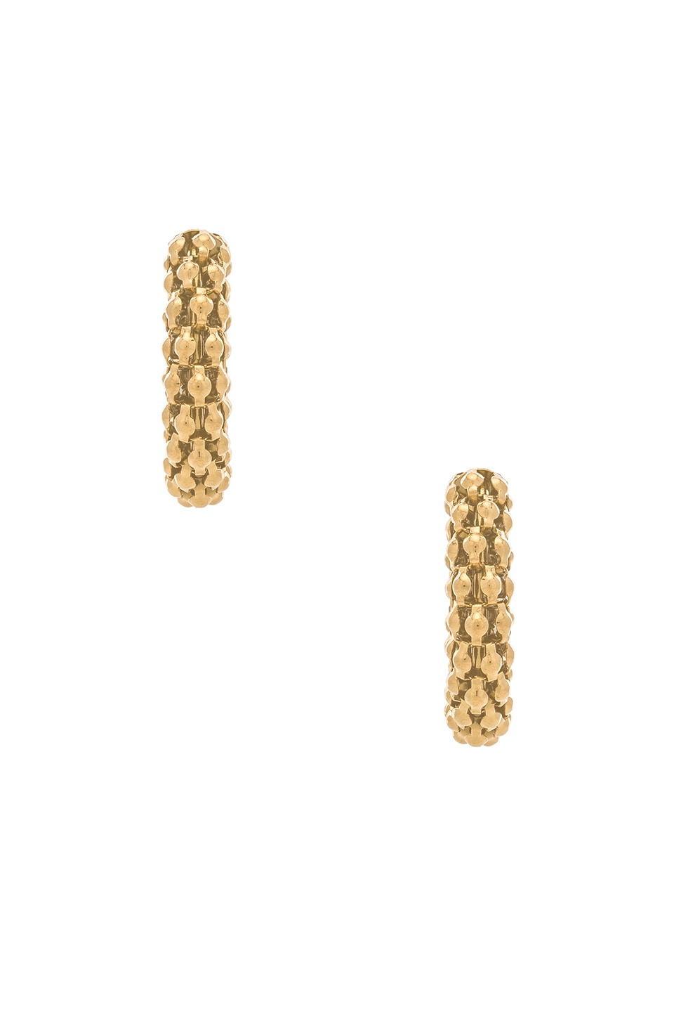Amber Sceats Marcella Earrings in Gold