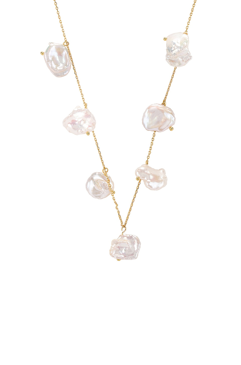Amber Sceats Bobbie Necklace in Gold