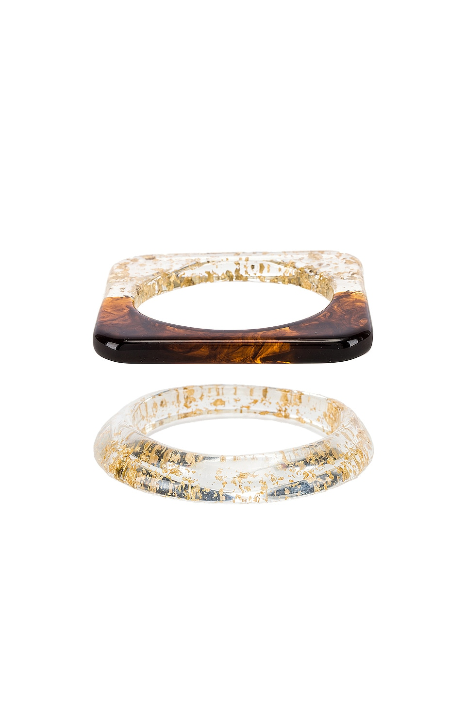 Amber Sceats Hart & Sahi Bracelet Set in Gold Multi