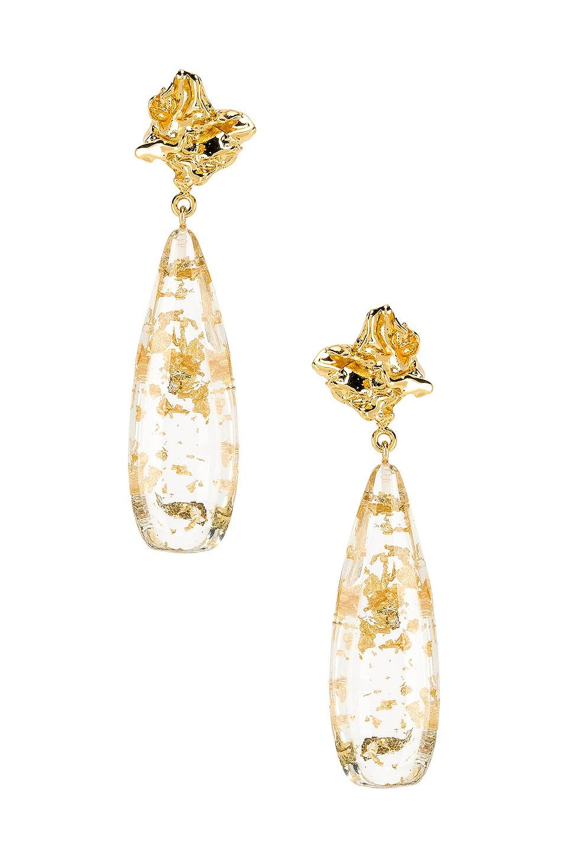 Amber Sceats Julia Earrings in Gold