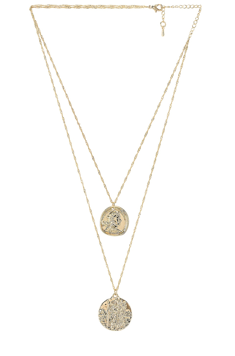 Amber Sceats X REVOLVE Athens Necklace in Gold
