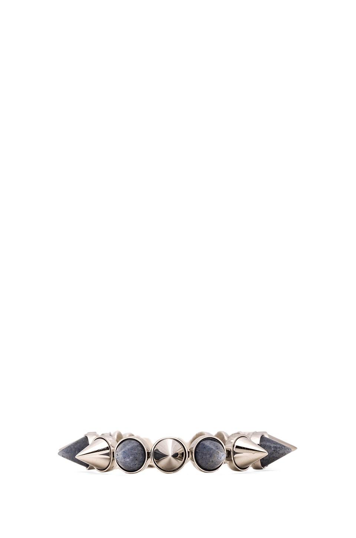 Amber Sceats Admirer Bracelet in Silver & Blue Anenturine