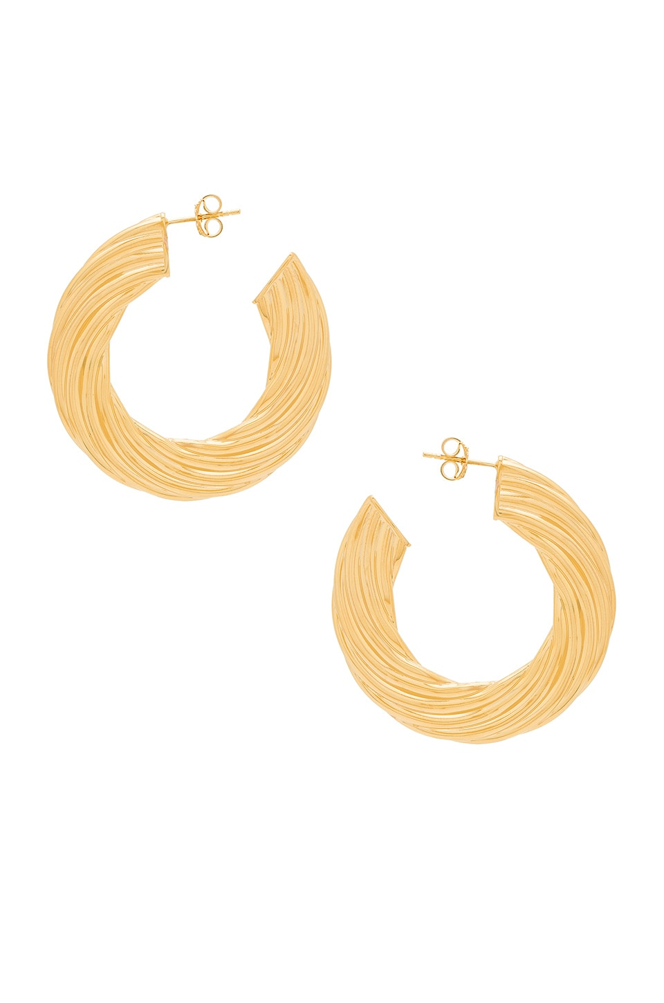 Amber Sceats Bec Earrings in Gold