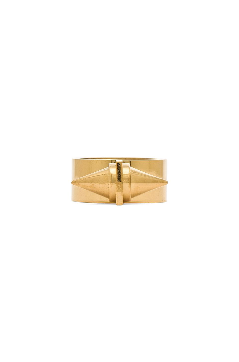Amber Sceats Alexia Ring in Gold