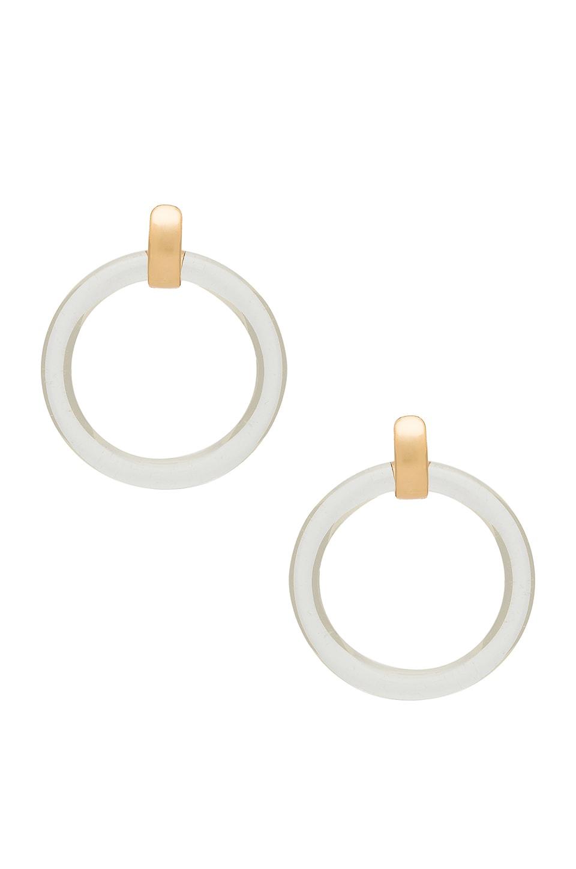 Amber Sceats Amari Earring in Clear