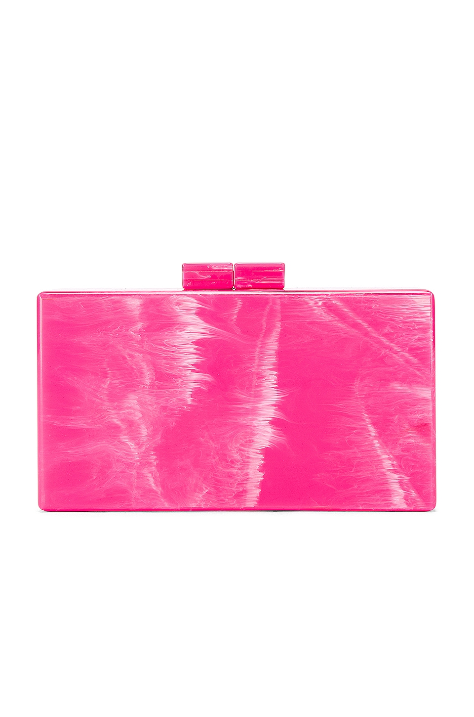 Amber Sceats Box Clutch in Hot Pink