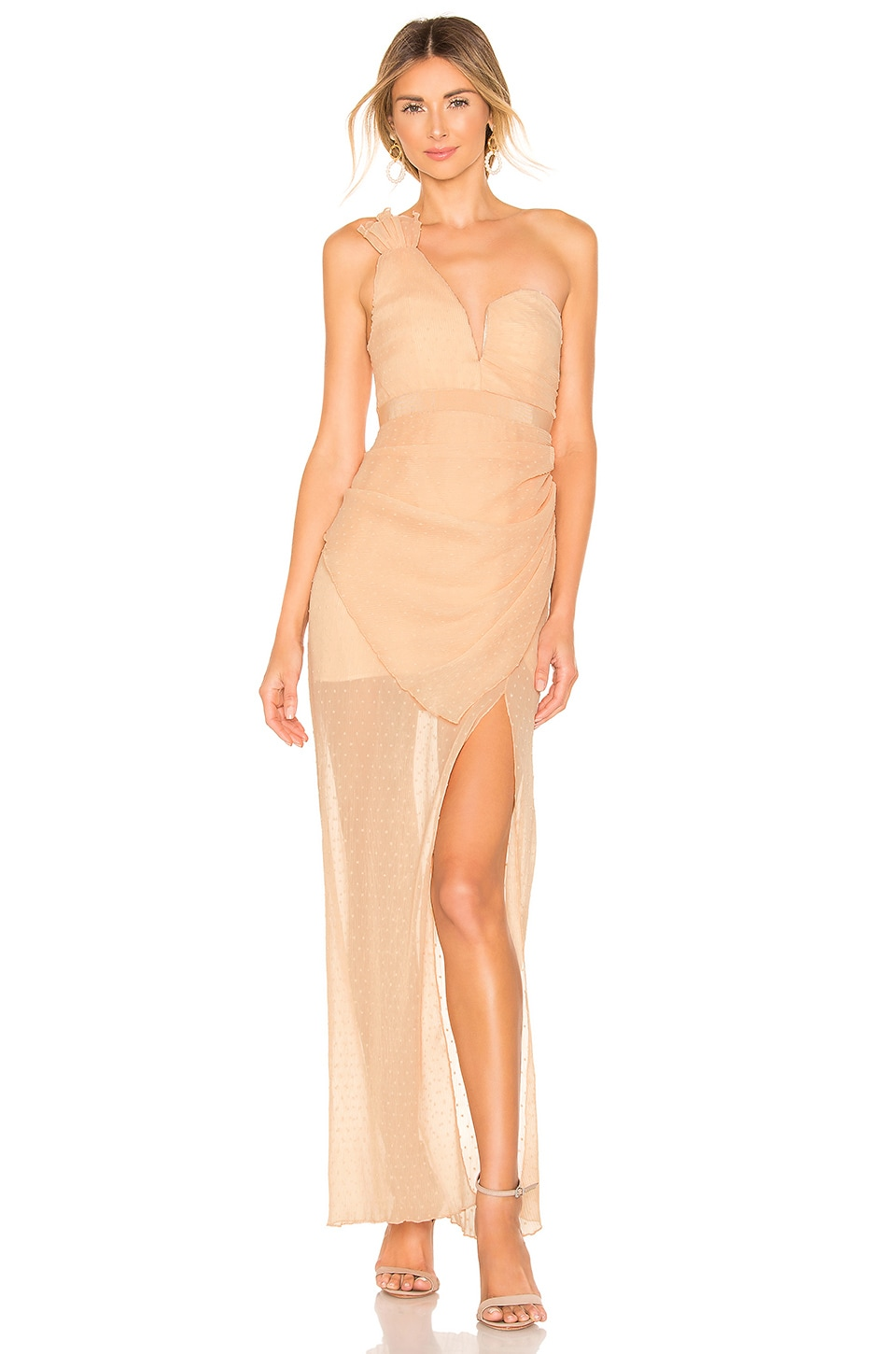 Alice McCall You're The One For Me Gown in Nude
