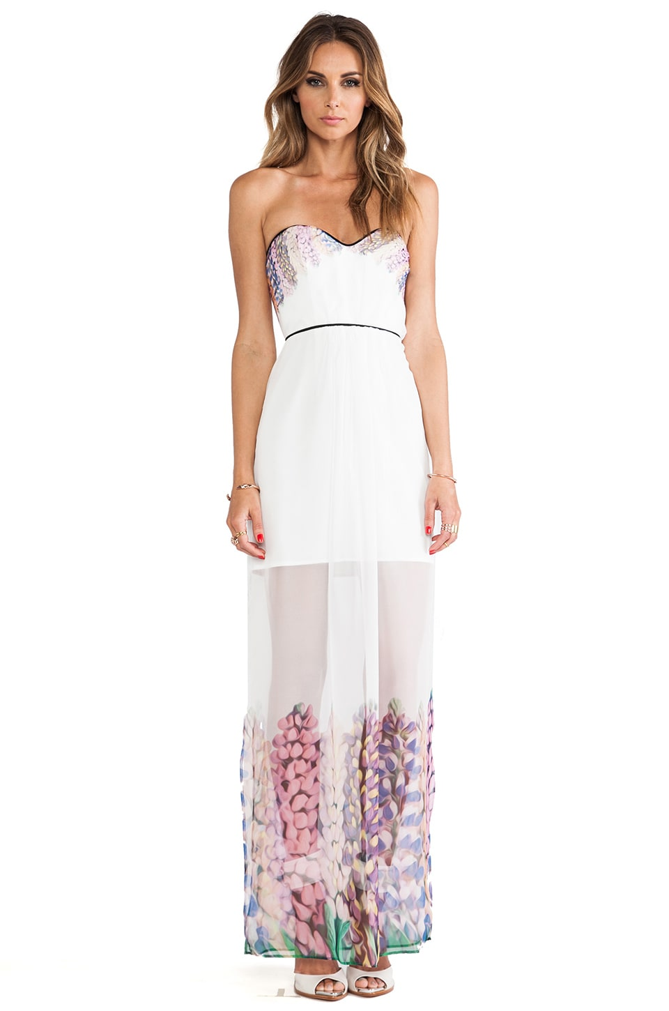 Alice McCall Pasadena California Dress in White