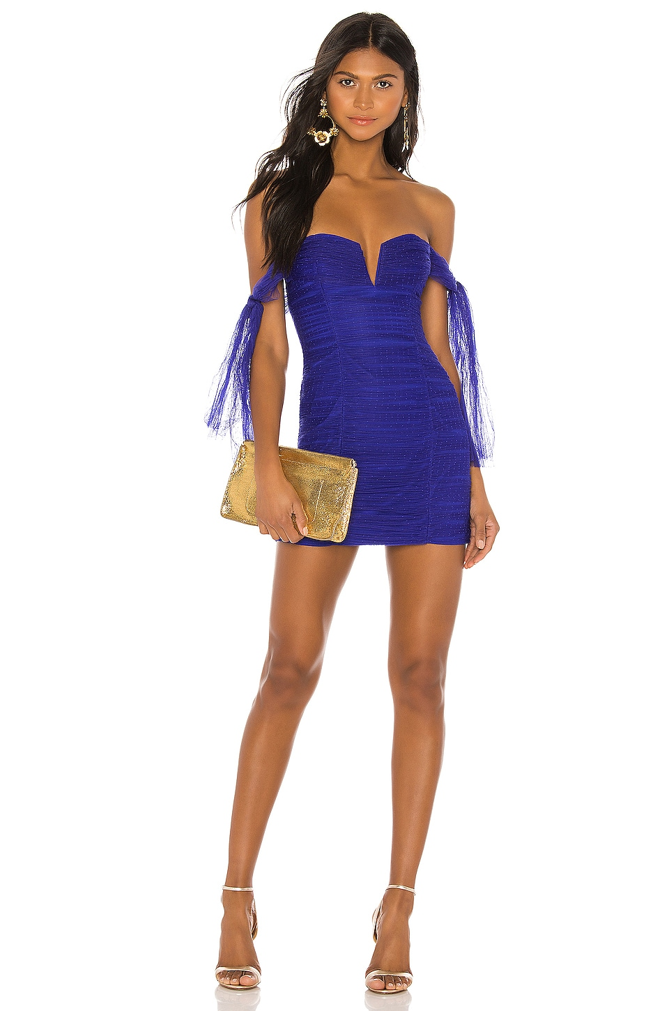 Alice McCall Good Vibes Dress in Royal