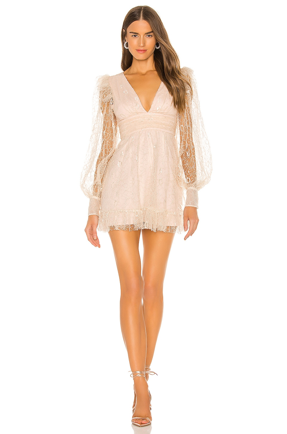Alice McCall Floyd Mini Dress in Linen