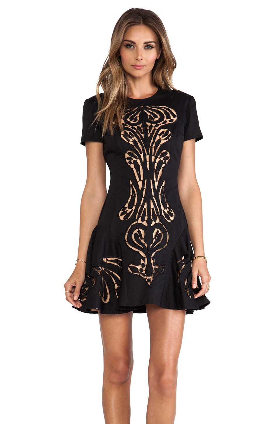 Alice McCall Traveland Ship Dress in Black