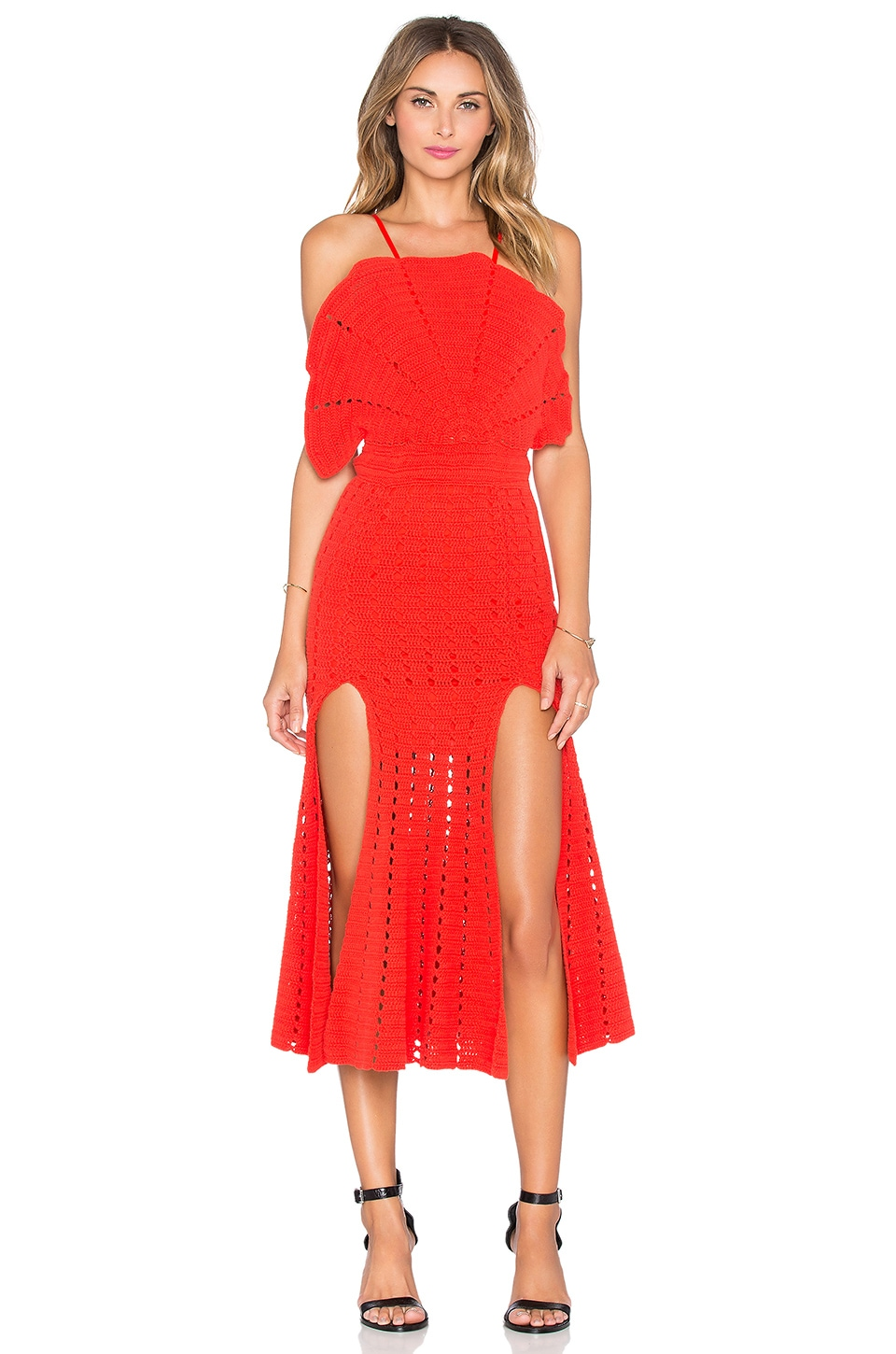 Alice McCall Room Is On Fire Dress in Red