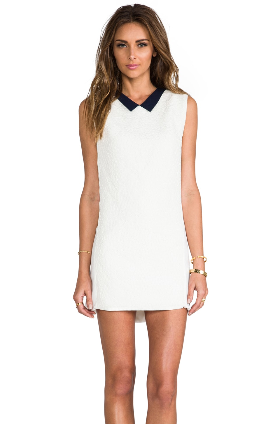 Alice McCall Pontus Dress in Cloud White