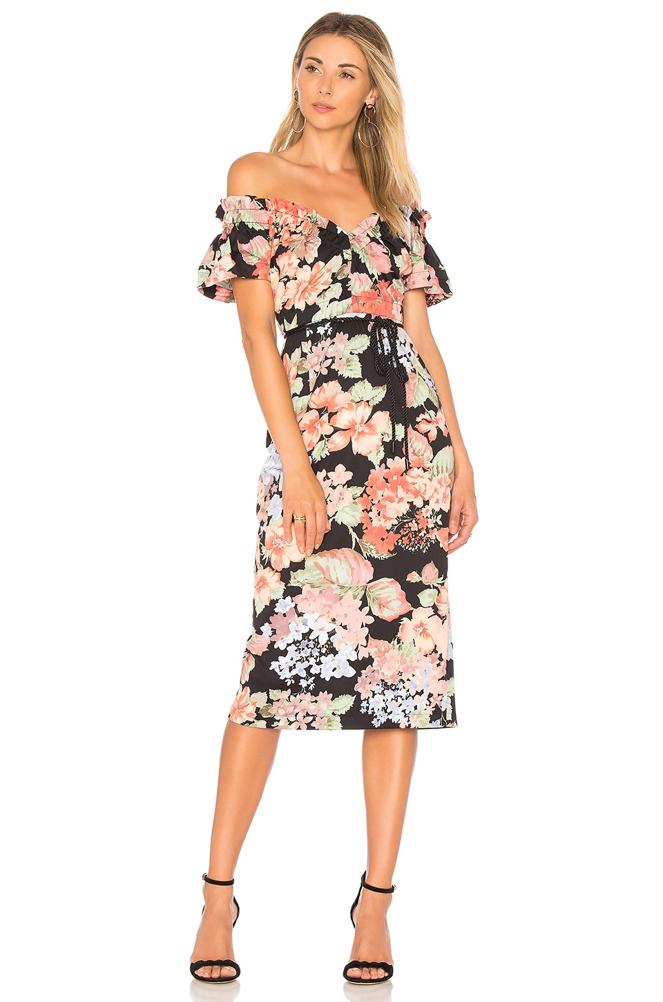 Alice McCall Ti Amo Dress in Evening Floral