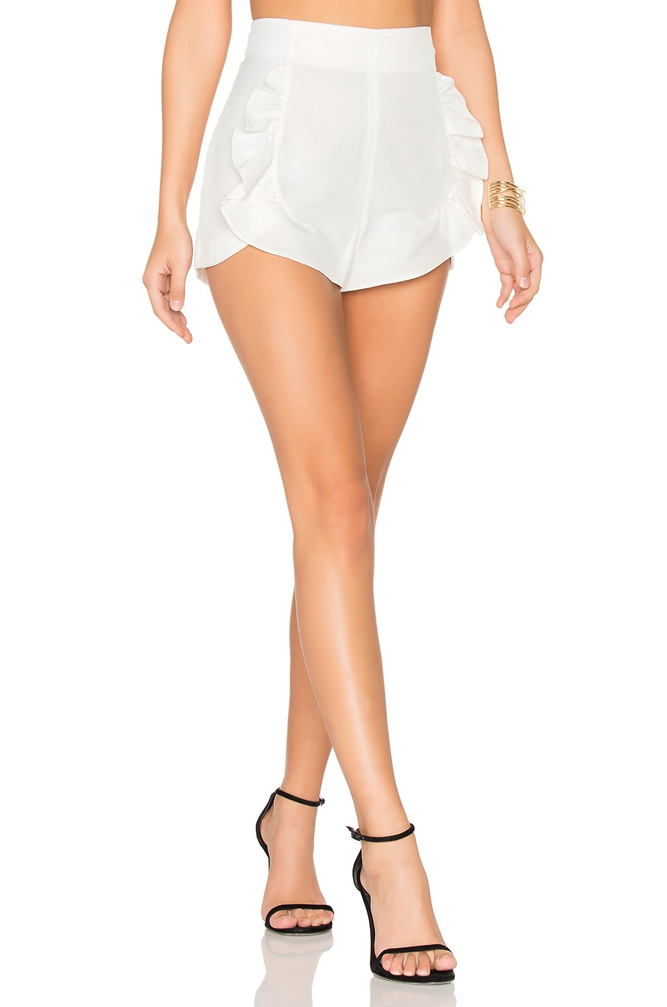 Alice McCall Proud Mary Shorts in Porcelain