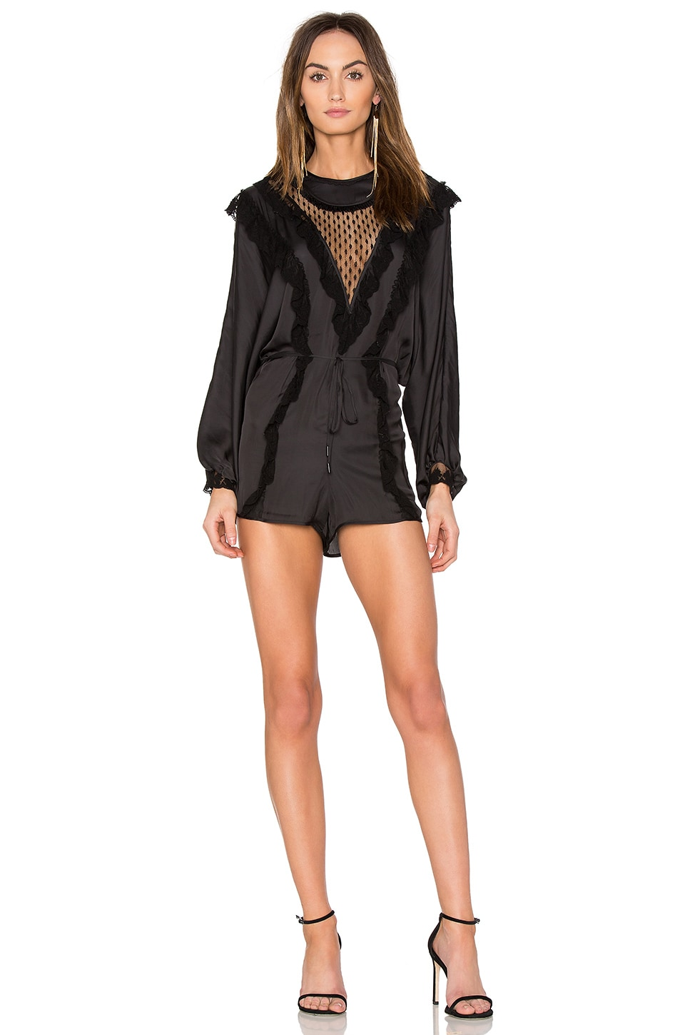 Alice McCall Love Story Romper in Black