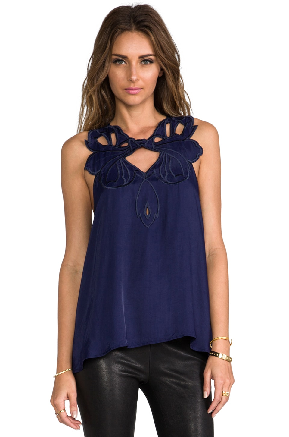 Alice McCall Chesapeake Bay Cami in Navy