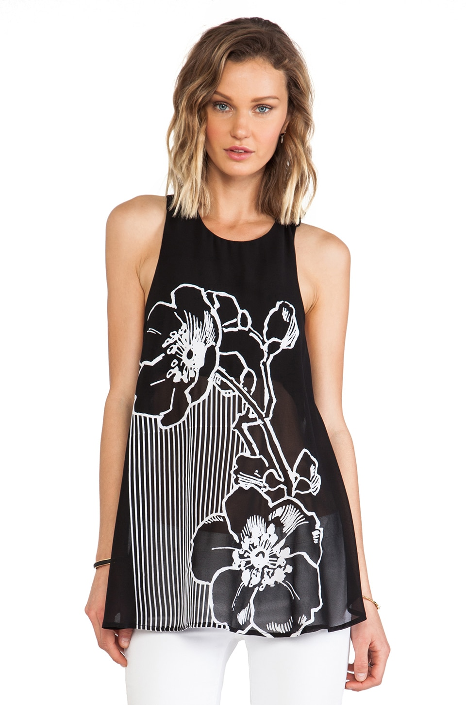 Alice McCall Par le Train Cami in Black