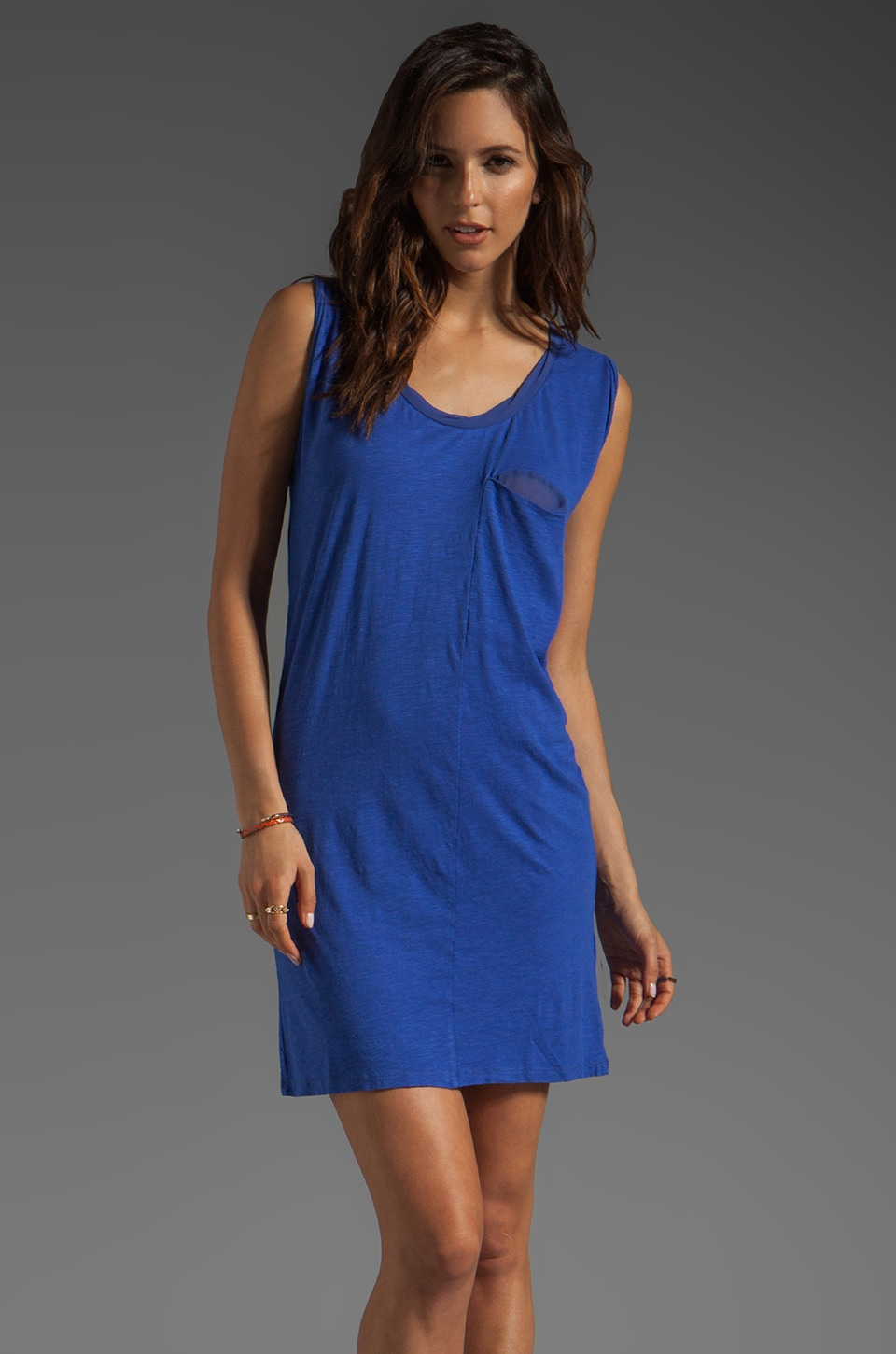 American Vintage Jacksonville Tank Dress in Indigo