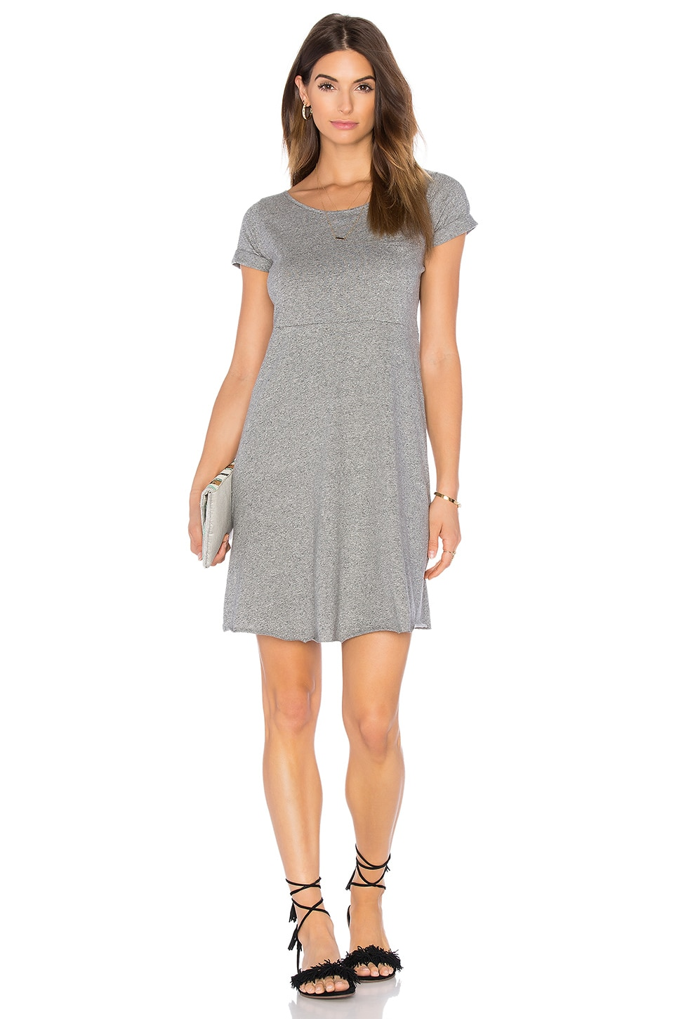 American Vintage Jilpow Dress in Heather Grey