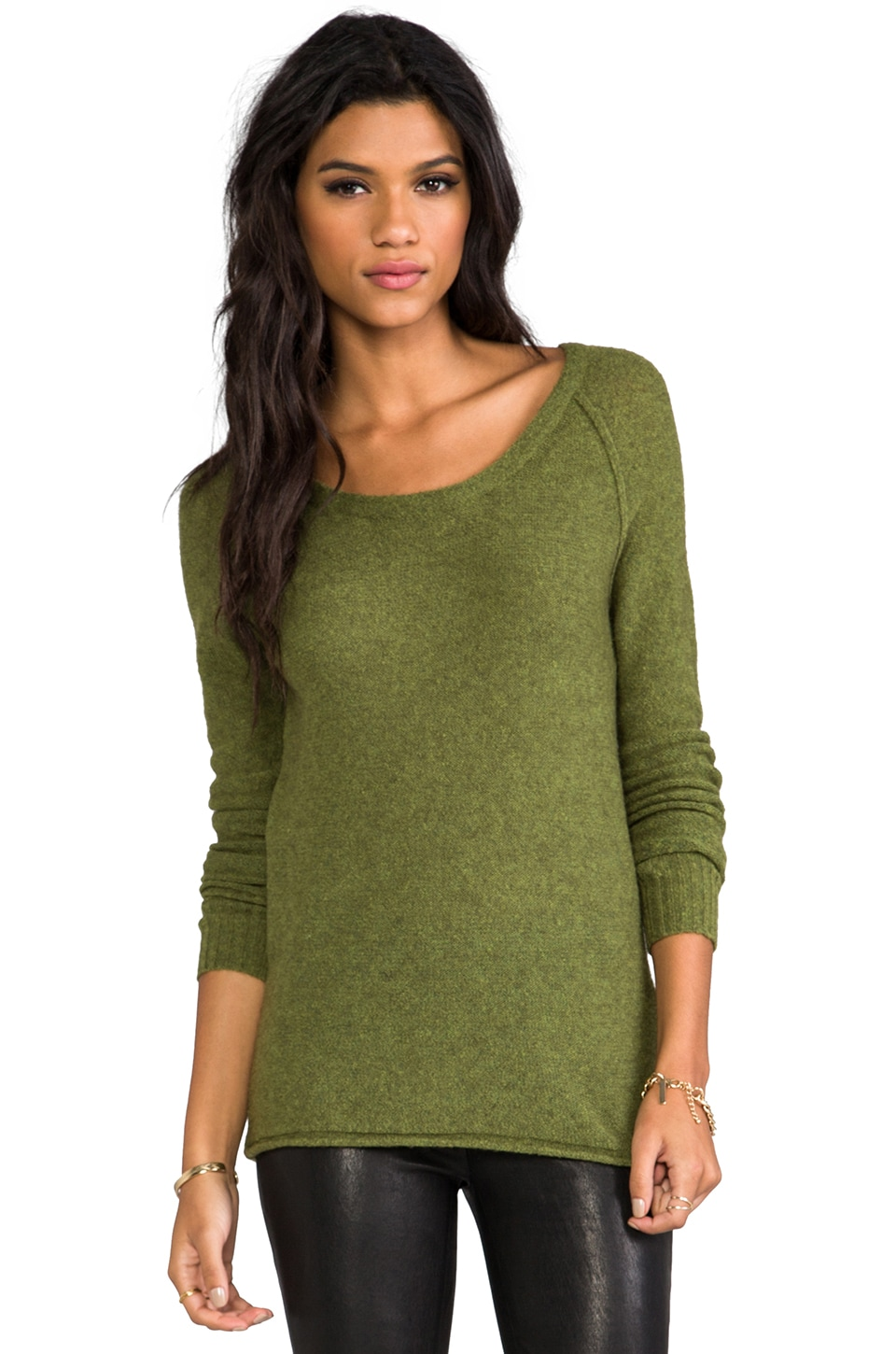 American Vintage Saybrook Pullover in Military