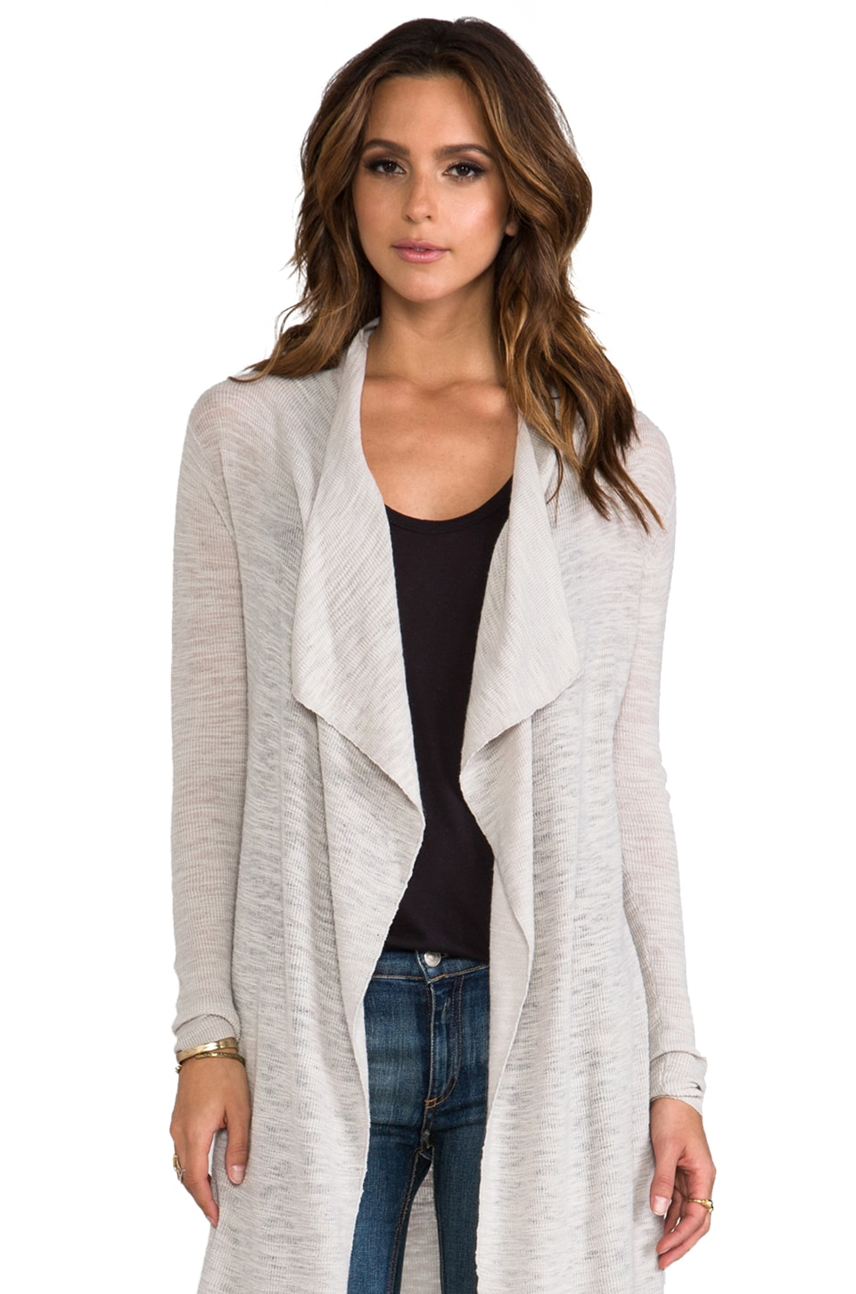 American Vintage Wappingers Cardigan in Porcelain