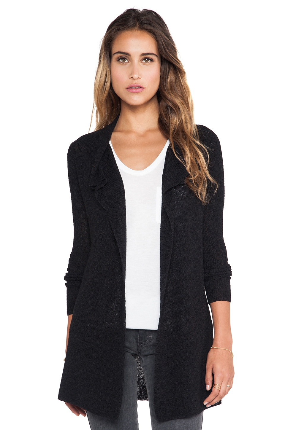 American Vintage Goodwin Cardigan in Black