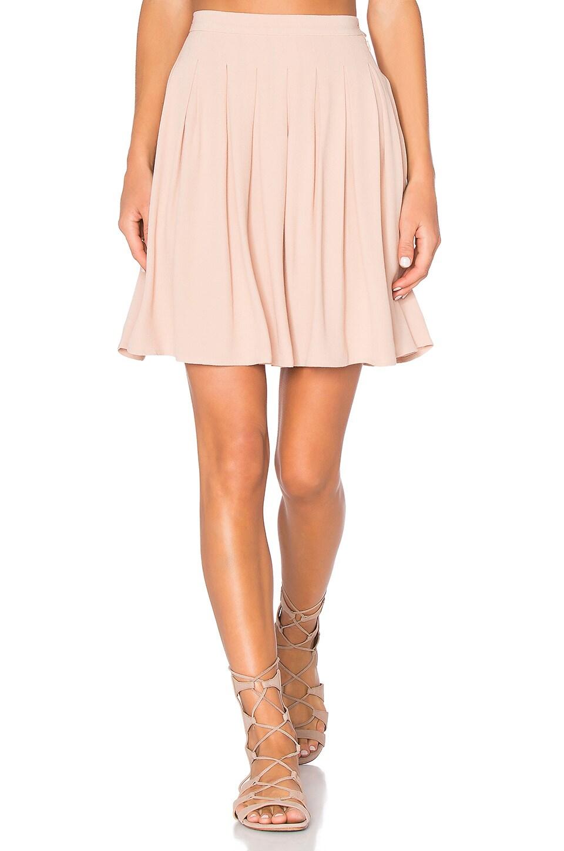 Holiester Pleated Mini Skirt