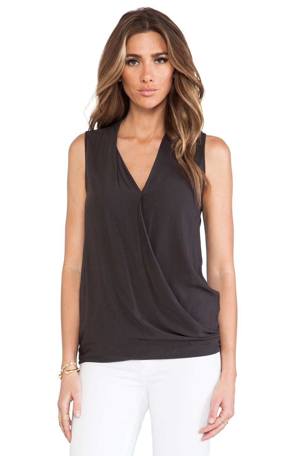 American Vintage Ludmington Sleeveless Top in Carbon
