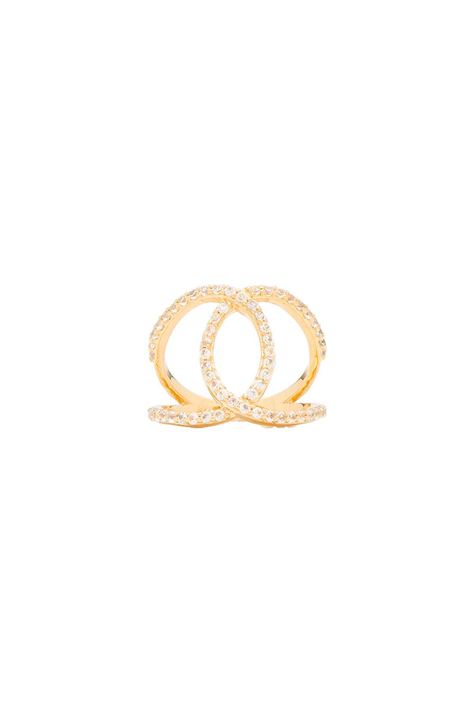 Alex Mika KoKo Ring in Gold