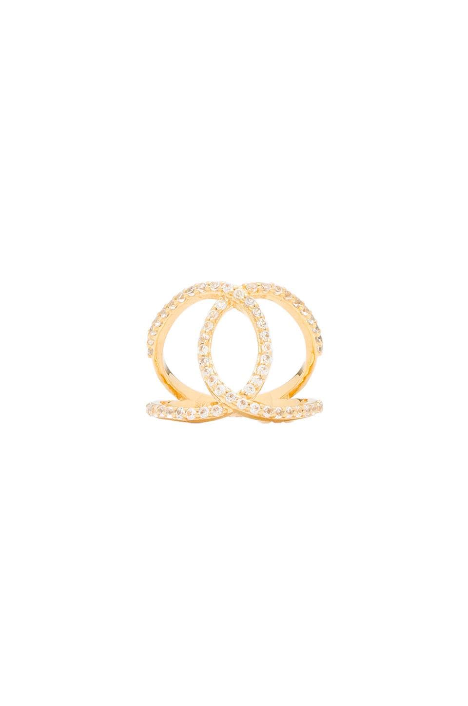 Alex Mika KoKo Ring in Gold