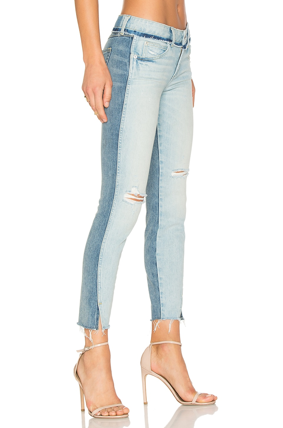 Twist Two Tone Skinny by Amo