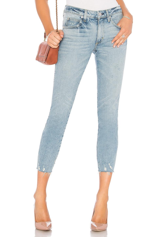 AMO Stix Crop Jean in Blue