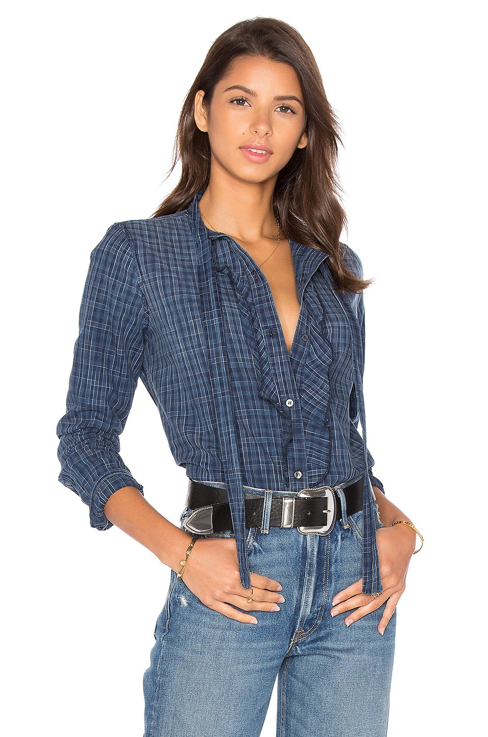 Olivia Button Up by AMO
