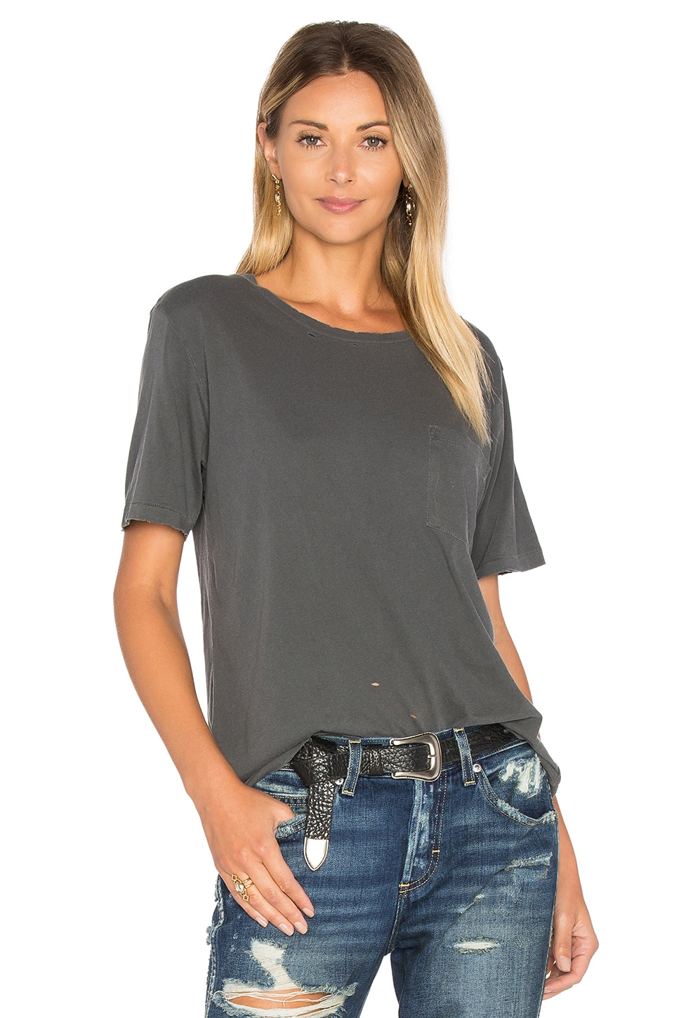 Tomboy Pocket Tee by Amo