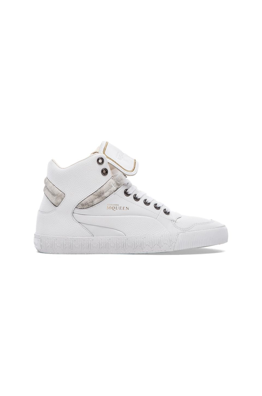Alexander McQueen Puma Street Climb III Mid in White