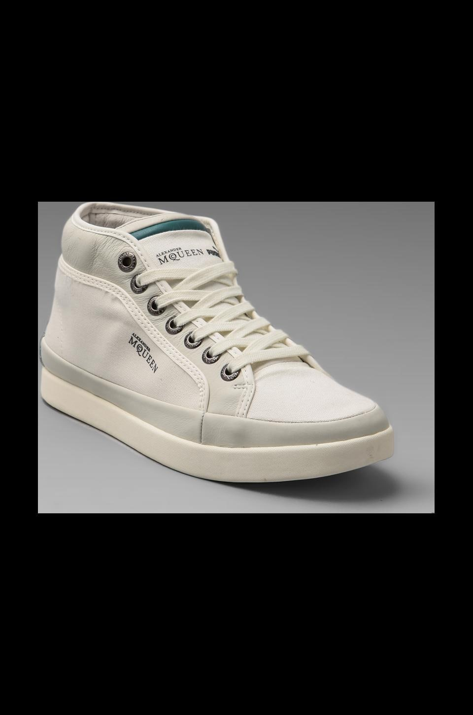 Alexander McQueen Puma Rabbie Mid in Bright White