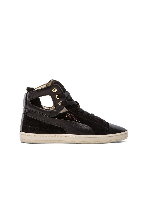 Alexander McQueen Puma Terena Mid Sneaker in Black
