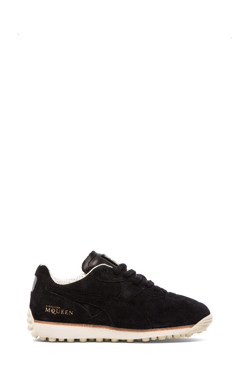 Alexander McQueen Puma AMQ Rocket Sneakers in Black