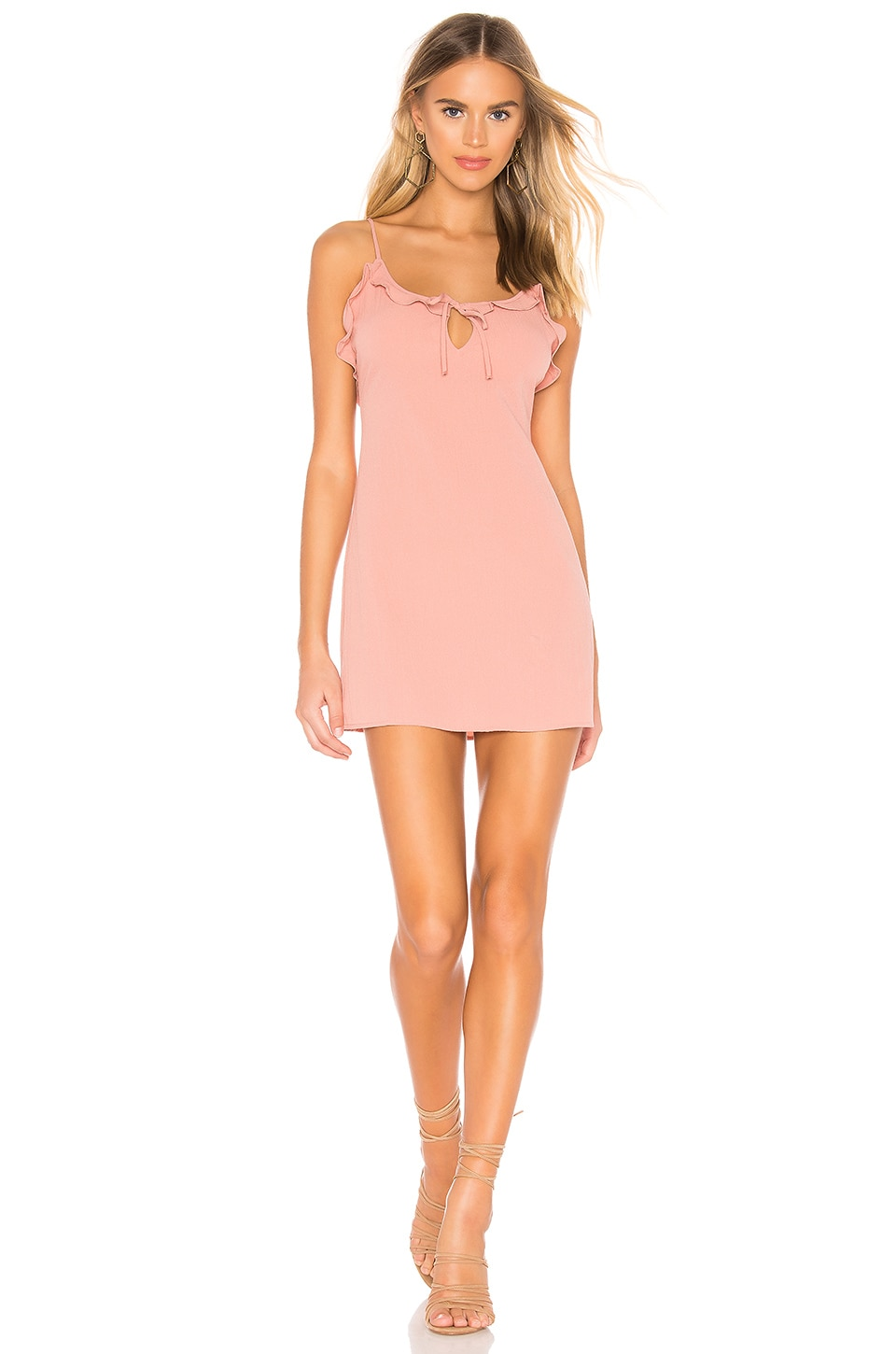 AMUSE SOCIETY Contigo Dress in Havana Pink