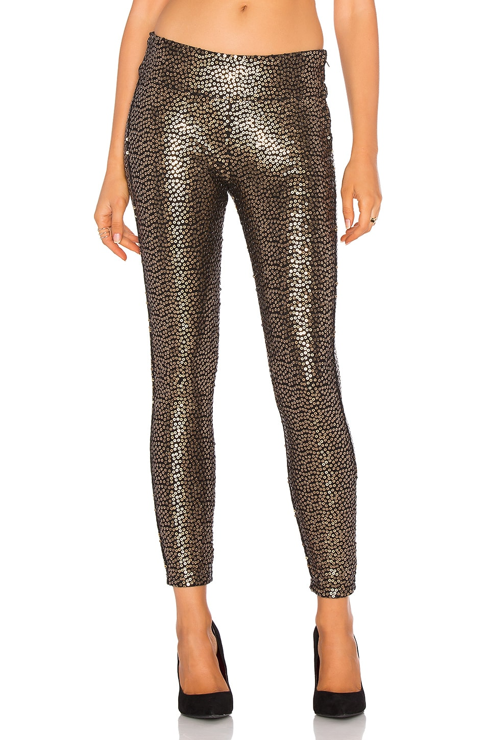 AMUSE SOCIETY Gold Dust Pant in Black Sands