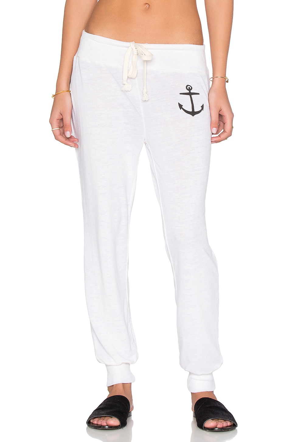 AMUSE SOCIETY Anchors Away Sweatpant in Casa Blanca
