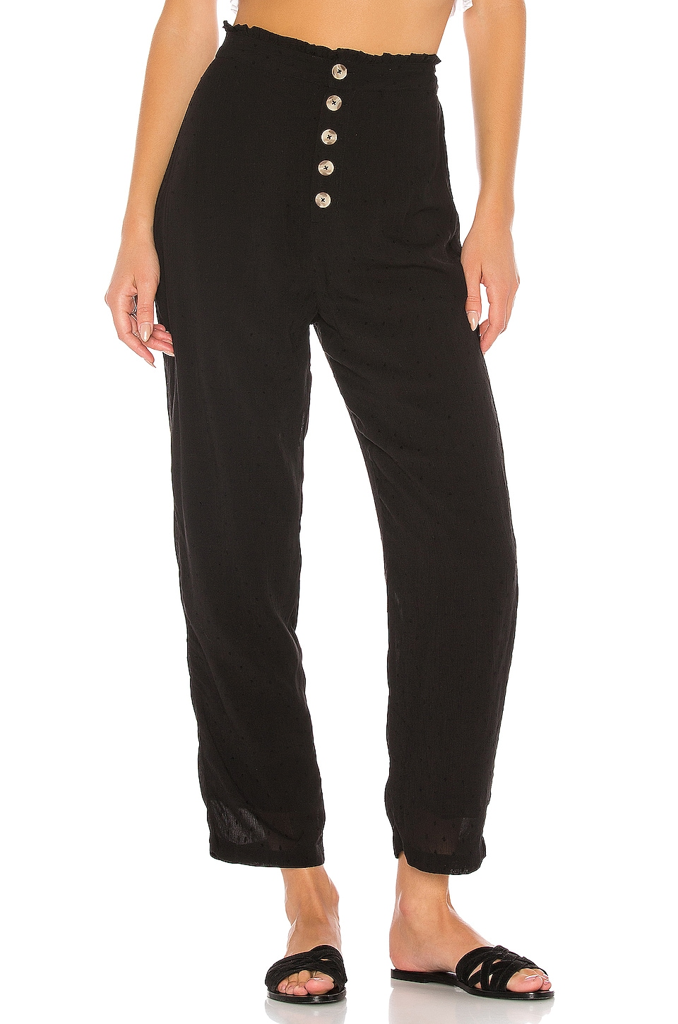 AMUSE SOCIETY Billie Pant in Black Sands