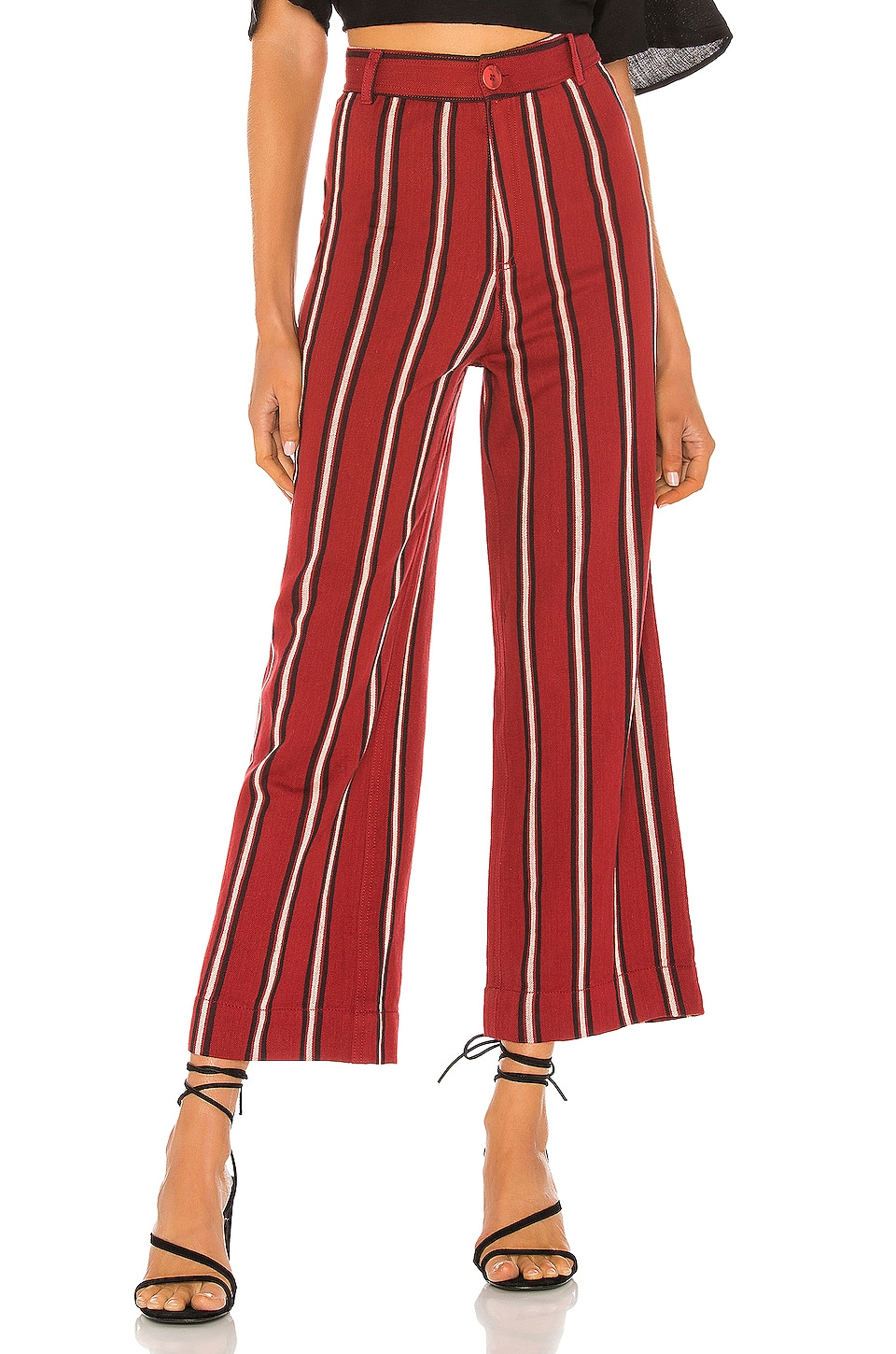 AMUSE SOCIETY Millie Pant in Fig