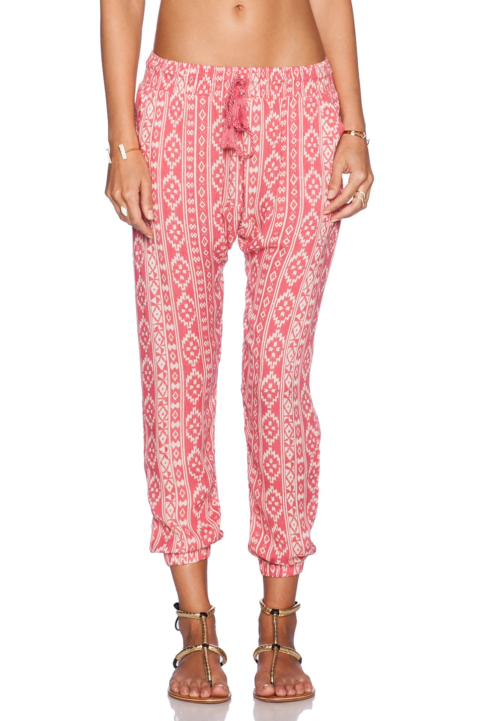 AMUSE SOCIETY Escape Pant in Della Rosa