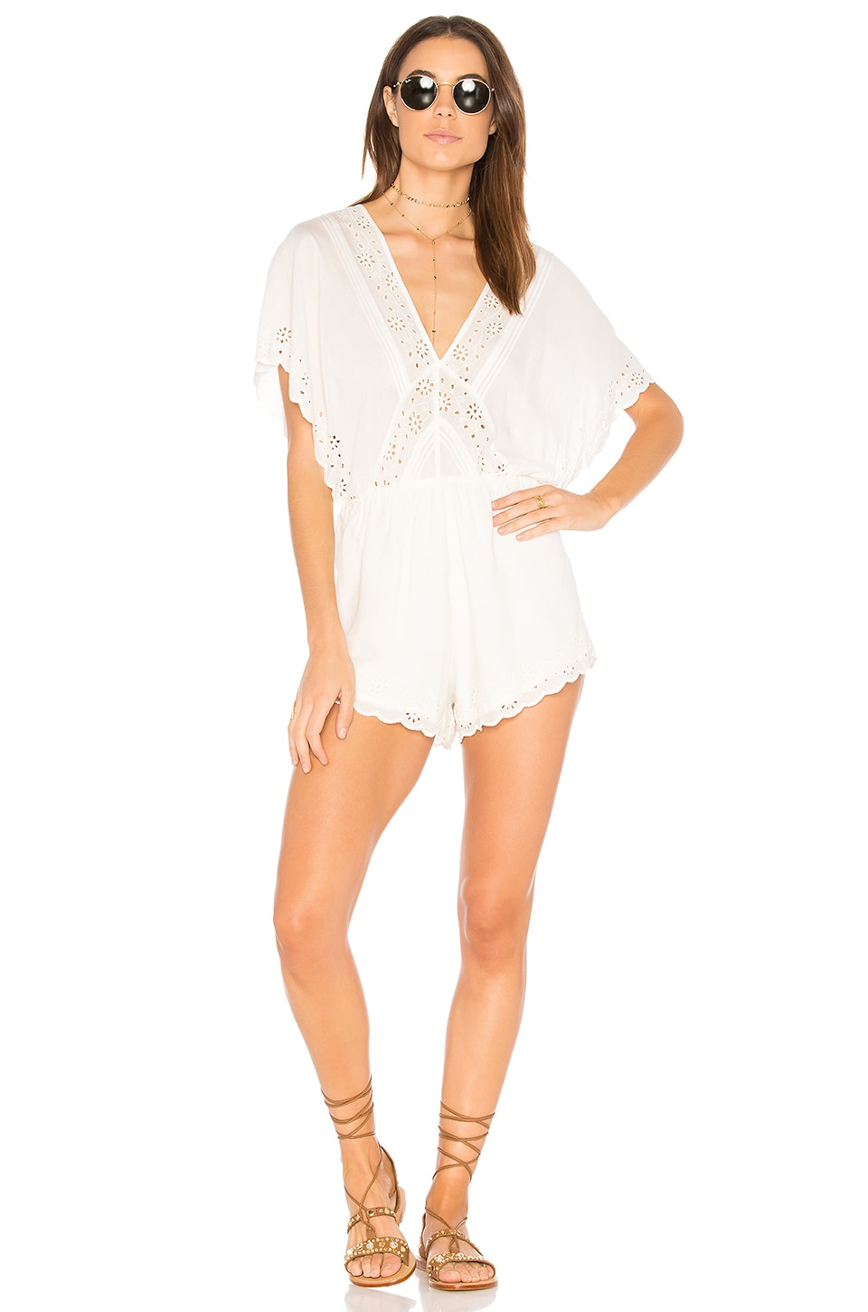 Anderson Romper by AMUSE SOCIETY