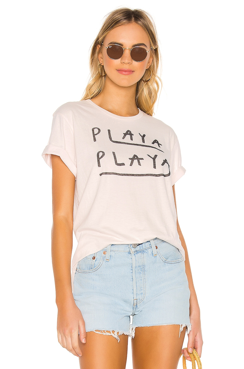 AMUSE SOCIETY Playa Playa Tee in Dawn