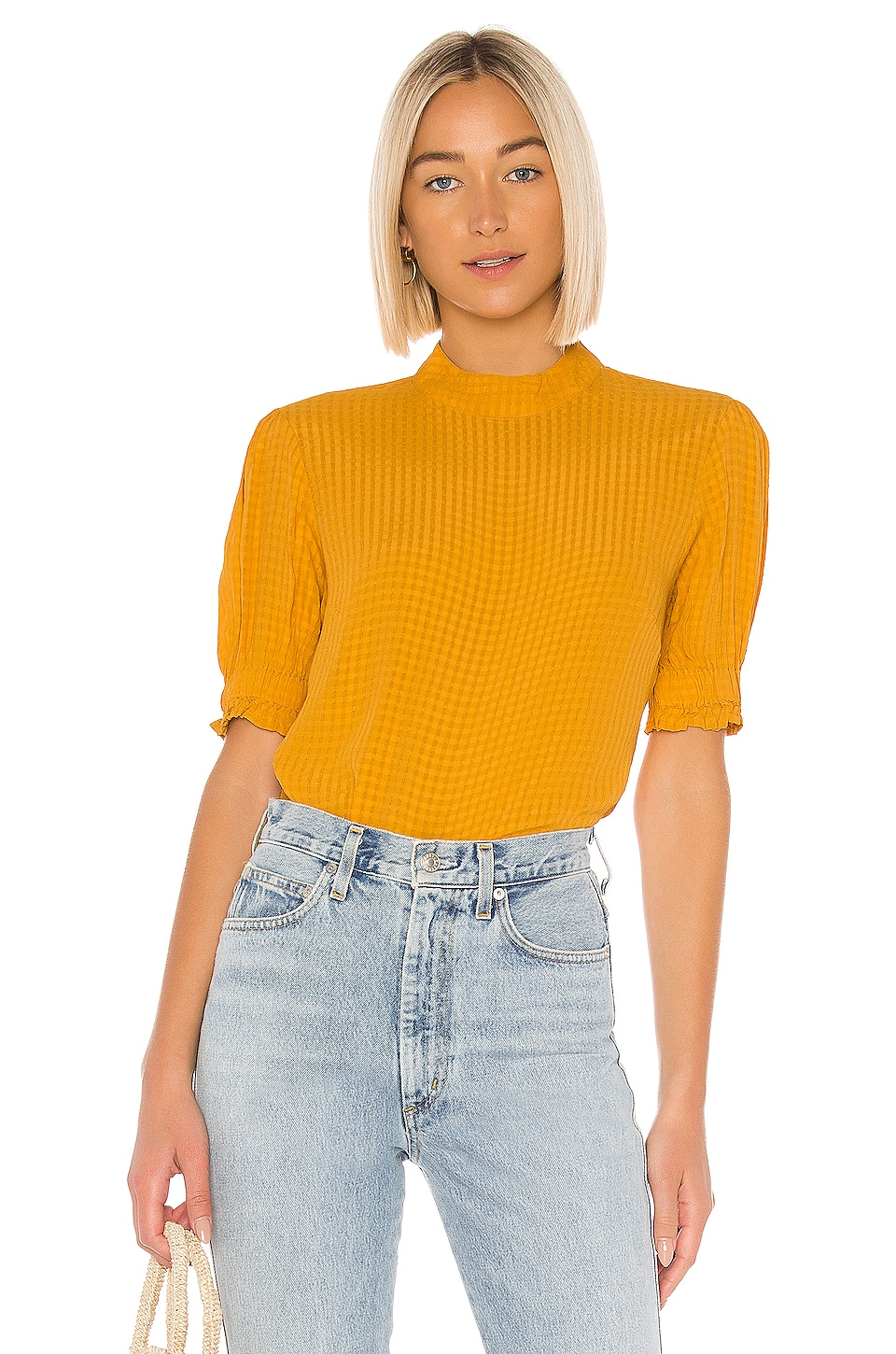 AMUSE SOCIETY Palermo Top in Gold