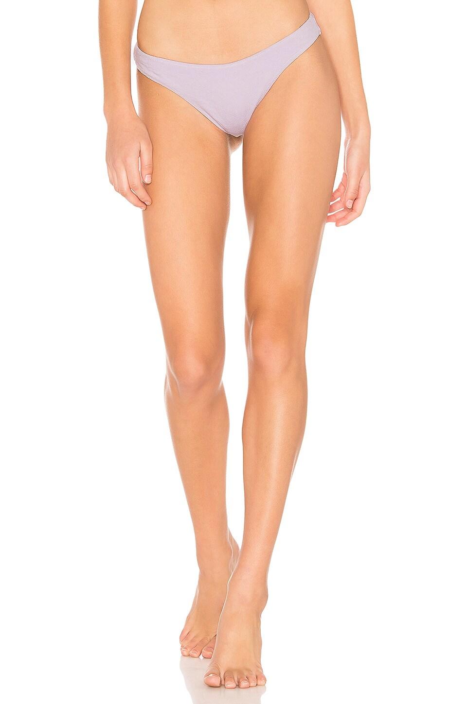 AMUSE SOCIETY X FLYNN SKYE Flynn High Hip Bikini Bottom in Lilac