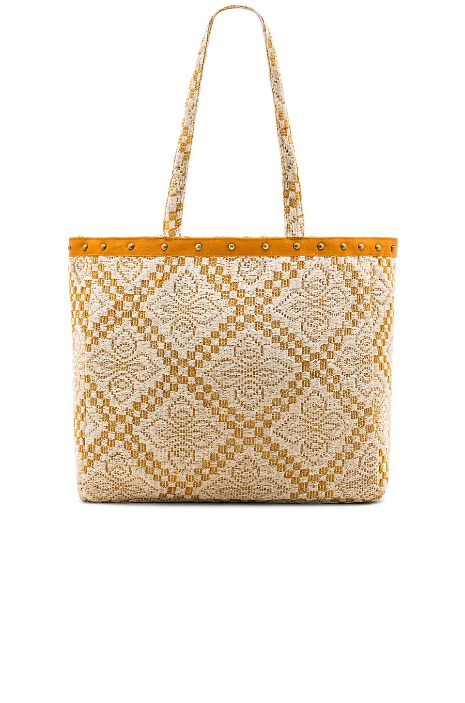 AMUSE SOCIETY Coastal Love Affair Tote in Camel